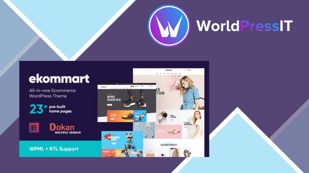 Ekommart All-in-one eCommerce Theme