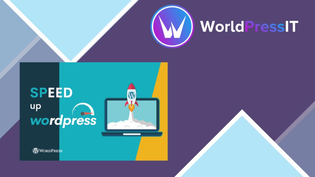 Service - Speed Up WordPress Site - Based on GTMetrix and Google PageSpeed Insights metrics
